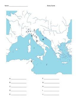 Rome Map Quiz