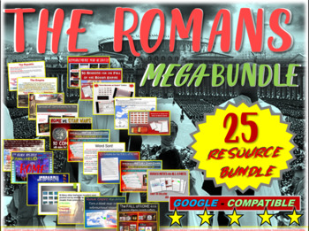 Rome Mega-Bundle - 25 resources to teach an engaging unit on the Romans