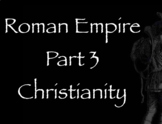 Rome Note Part 3 - Christianity