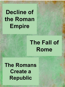 Rome Notes
