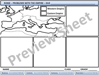 Rome - Problems with the Empire