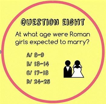 Rome Quiz: Fun Prezi Rome Quiz for upper elementary/middle school students