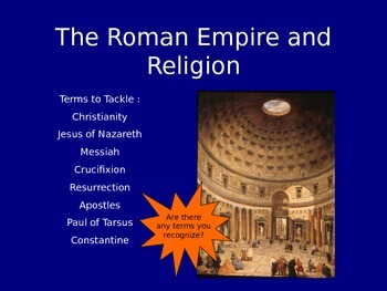 Ancient Rome Section 2 - Rome and Religion