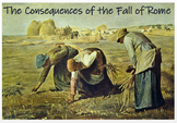 Rome - Consequences of the Fall + Assessment
