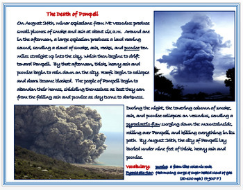 "Ancient Rome - ""The Destruction of Pompeii"" + DBQ Assessments"