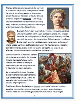 """""""The Roman Empire"""" - A Brief Overview + Assessment"""