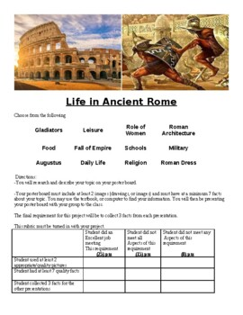 Rome Time Capsule Project