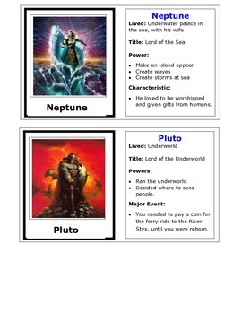 Rome Trading Cards