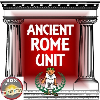 Rome Unit - Ancient Rome: Readings, activities & worksheets on all things Roman.