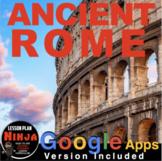 Ancient Rome Unit - PPTs, Worksheets, Lesson Plans+Test (Rome)