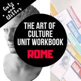 Rome Unit Workbook - The Art of Culture