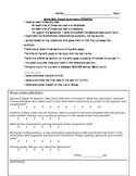 Rome Wiki Project Assignment Sheet