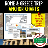Rome and Greece EF Tour Field Trip Anchor Charts