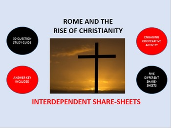 Rome and the Rise of Christianity: Interdependent Share-Sheets Activity