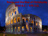 Rome and the Rise of Christianity (World History) Bundle