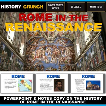 Rome in the Renaissance - PowerPoint with Notes Copy