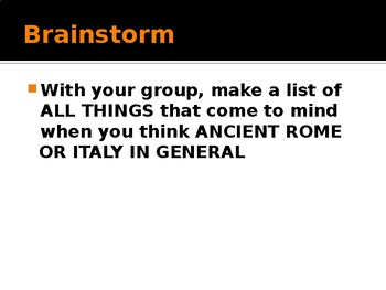 Rome's Geographic Features