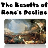Rome's Decline Reading and Writing