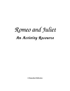 Romeo & Juliet Activities Resource