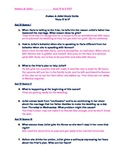 Romeo & Juliet Acts 4 & 5 Study Guide and Key