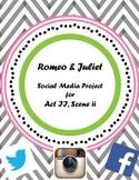 Romeo & Juliet Balcony Scene via Social Media