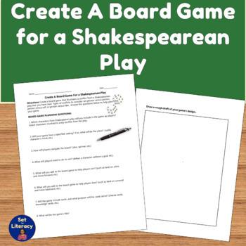 Romeo & Juliet Board Game Printable