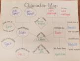 Romeo & Juliet Character Map
