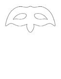 Romeo & Juliet:  Character Mask Activity! Printable, Foldable Template!!