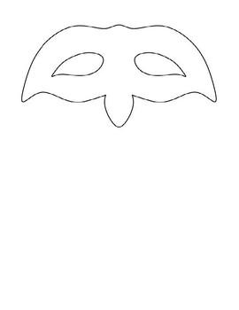 Romeo & Juliet:  Character Mask Activity! Printable, Folda