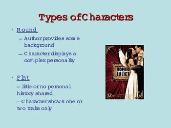 Romeo & Juliet Characterization ppt