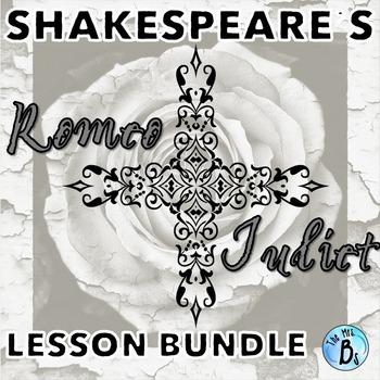Shakespeare's Romeo & Juliet - Creative Activity Bundle