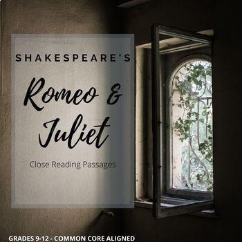 Romeo & Juliet Close Reading Guide