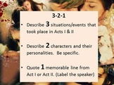 Romeo & Juliet--Common Core Aligned Act II packet