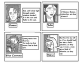 Romeo & Juliet Elizabethan Tea Party Character Cards! Intr
