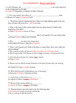 Romeo & Juliet FINAL TEST Assessment -46 Qs w/ ANSWER KEY & Short Answers