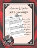 Romeo & Juliet Film Scavenger Hunt