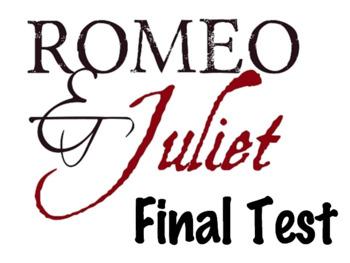 EDITABLE Romeo & Juliet Exam w/ Answer Key (100 Question-Scantron)