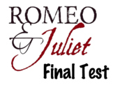 EDITABLE Romeo & Juliet Test w/ Answer Key (100 Question-S