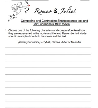 Romeo & Juliet Guided Notes, Scene Prep, Quizzes and More!