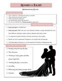 Romeo & Juliet Handy Helper - Intro Packet