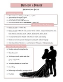Romeo & Juliet Handy Helper - Intro Packet
