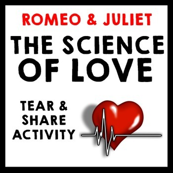 """Romeo and Juliet - """"The Science of Love"""" Informational Text Analysis"""