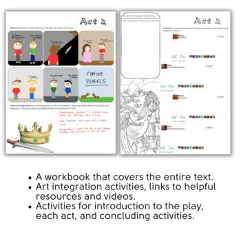 Romeo & Juliet Interactive Workbook