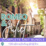Romeo & Juliet:  Introduction Lessons to Set the Stage {Gr