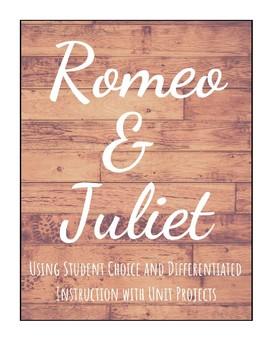 Romeo & Juliet: Menu Project
