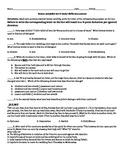 Romeo & Juliet PARCC aligned Act 4 QUIZZES- 1 standard/1 a