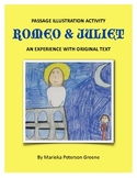 Romeo & Juliet - Passage Illustration Activity