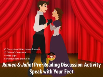 Romeo & Juliet Pre-Reading Activity - Discussion - Speak with your Feet