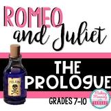 Romeo & Juliet - Prologue Reading Annotation