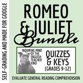 Romeo & Juliet Quiz Bundle (Set of 5 Assessments)
